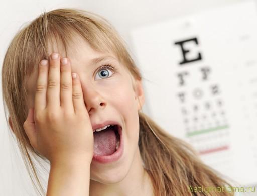Уже в восемь лет ребенок может использовать линзы