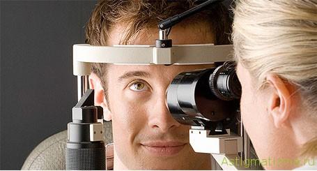 Для выбора правильного способа коррекции специалист проводит обследование глаз