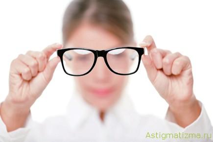 Линзы коррекцией зрения